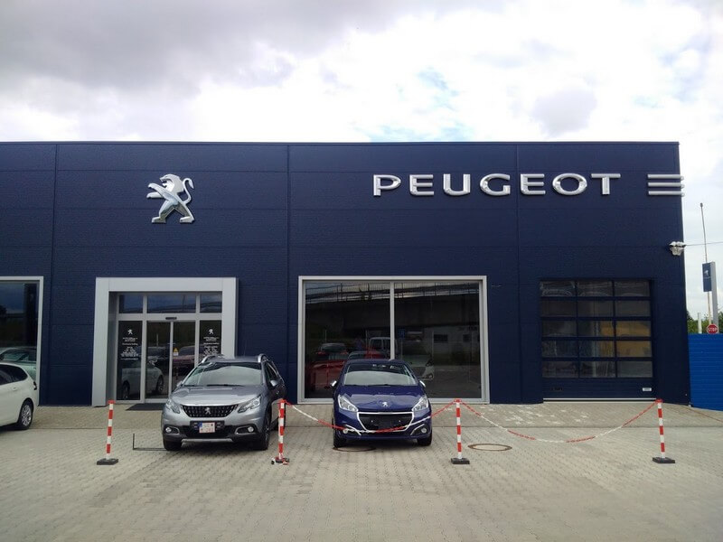 Referenzen Cipi Stahl konstruktionen Peugeot_LC_2