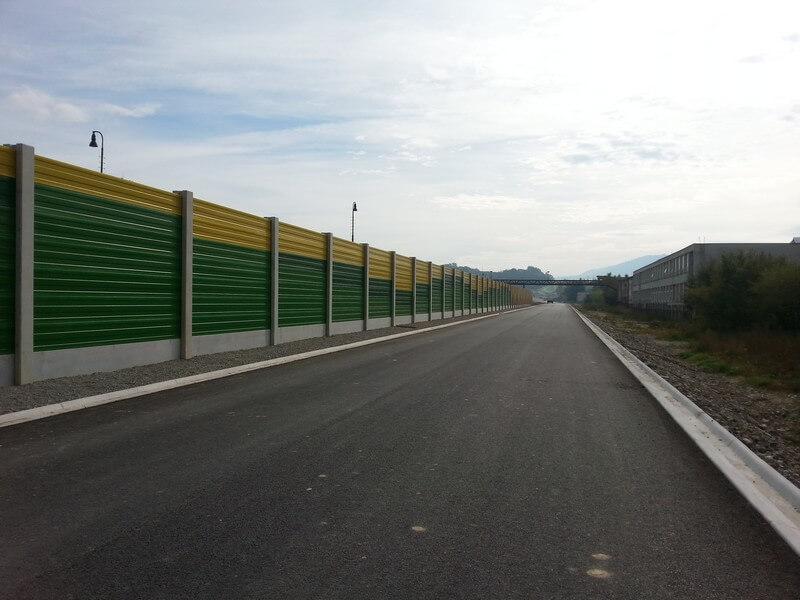Referenzen Cipi Stahl LÄRMSCHUTZWÄNDE Protihlukové steny_BR_1